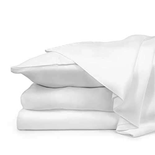 Hotel Soft Luxury 100/% Pure Bamboo Solid Deep Pocket One Fitted Bottom Sheet