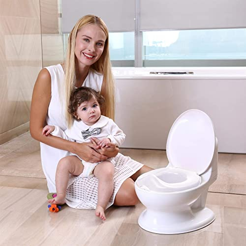 Soka Toddler Infant Flush Sound First Potty Educational Potty Training Aid Toy