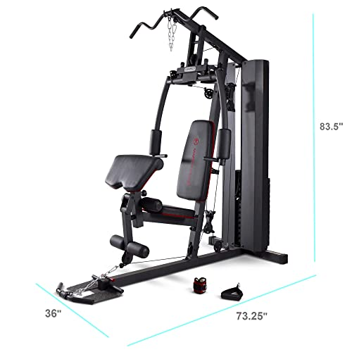 Awe Inspiring Buy Marcy Stack Dual Function Home Gym 200 Lb Stack Mkm Short Links Chair Design For Home Short Linksinfo