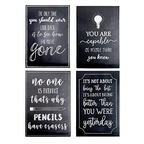 set of black white motivational posters miss independent