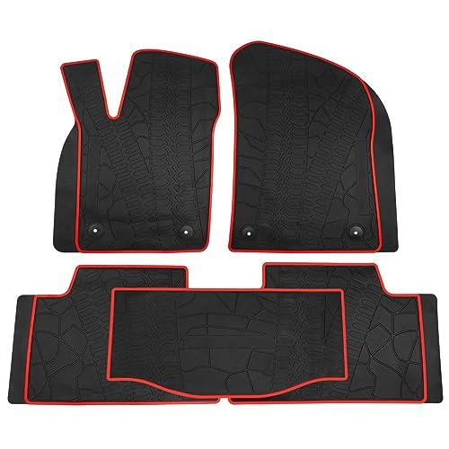 For Jeep Grand Cherokee Black All Season Floor Mats cover 82213686 3pc