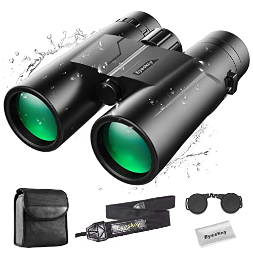 8-24x42 Eyeskey 8-24x42 Monocular Compact Telescope Lightweight Clear Bright Images HD Scope Easy to Operate for Wildlife Hiking