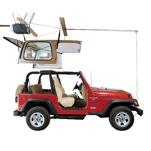 Pulley Canoe and Kayak Garage Storage Ceiling Hoist HARKEN SUP Easy Lift 8:1 Mechanical Advantage Boat Single-Person Hanger 4 Point System Paddleboard