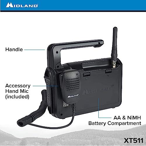 Buy Midland - XT511, 22 Channel Emergency Crank Base Camp