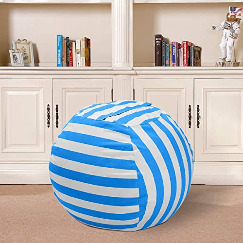 Strange Buy Wekapo Stuffed Animal Storage Bean Bag Chair For Kids Camellatalisay Diy Chair Ideas Camellatalisaycom