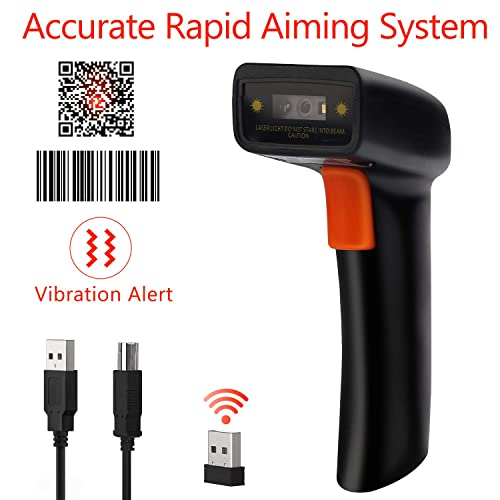 Buy Tera Barcode Scanner Wireless and Wired 1D 2D QR Digital