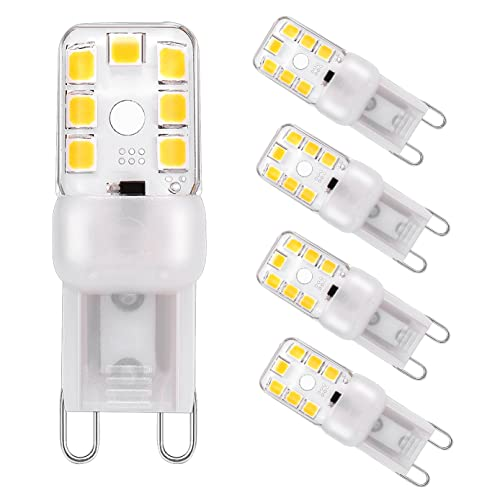 5x G9 Led Bulb 6W Available in cool white 4000k