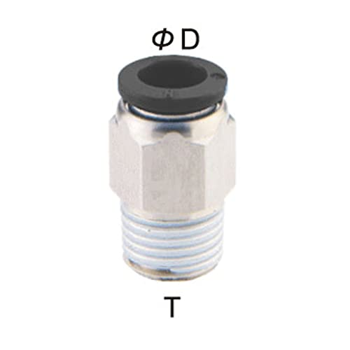 1//2 Tube OD x 1//4 NPT Thread Male Elbow Pack of 10 PneumaticPlus PL-1//2-N2 Push to Connect Tube Fitting Pack of 10 1//2 Tube OD x 1//4 NPT Thread Male Elbow
