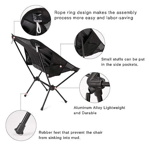 Enjoyable Buy Moon Lence Outdoor Ultralight Portable Folding Chairs Theyellowbook Wood Chair Design Ideas Theyellowbookinfo