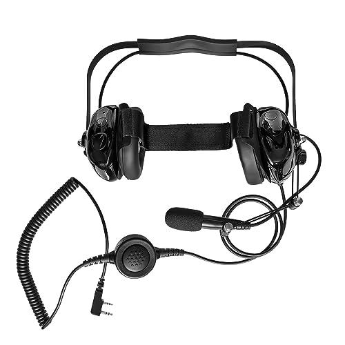 Single Wire Earhook Earpiece for Baofeng Radio BF-F8HP BF-F9 UV-82 ...