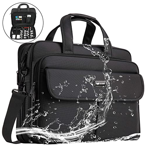 8ad338841a6c EYBF Laptop Bag 15.6 inch Expandable Laptop & Tablets Briefcase Business  Travel Handbag for Men Women,Water Resistant Lightweight Messenger Shoulder  ...