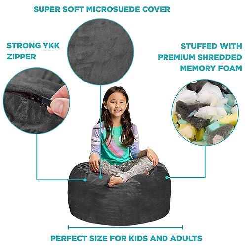Stupendous Buy Sofa Sack Plush Ultra Soft Kids Bean Bag Chair Inzonedesignstudio Interior Chair Design Inzonedesignstudiocom