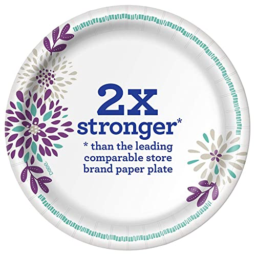 Dixie Everyday Paper Plates 480 Count 10 Packs of 48  Assorted Sizes 8 1//2/""