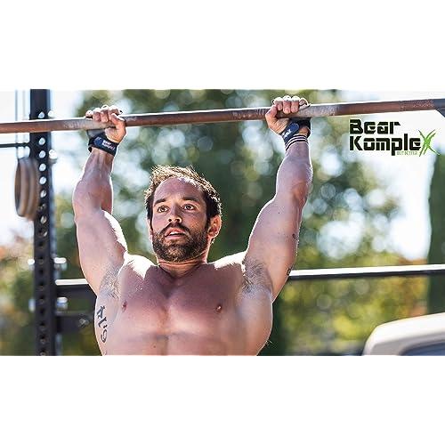 4f9b3f03ab112 Buy Bear KompleX 2 Hole Leather Hand Grips for Gymnastics & Crossfit ...