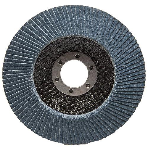 4.5 x 7//8 Premium Zirconia Flap Disc Grinding Wheel 80 Grit Type 29-10 Pack
