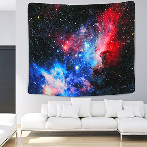 Mattress Living Room Bedroom Decoration Tapestry Home 3D Cosmic Galaxy Tapestry BLEUM CADE Starry Sky Tapestry Tablecloth