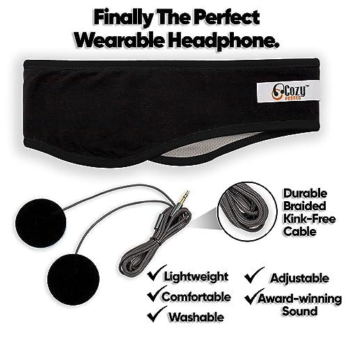 CozyPhones Sleep Headphones NEW Contour Series with Cool Mesh Lining  Ultra T