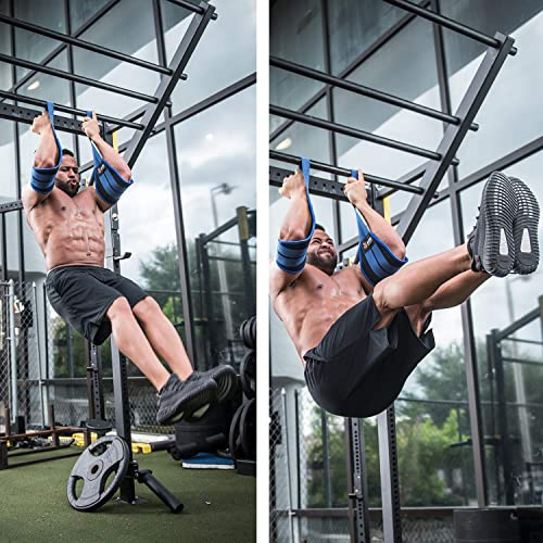 Senshi/'s Universal Abdominal Slings Pair Ab Slings Straps Chin Up Bar Gym