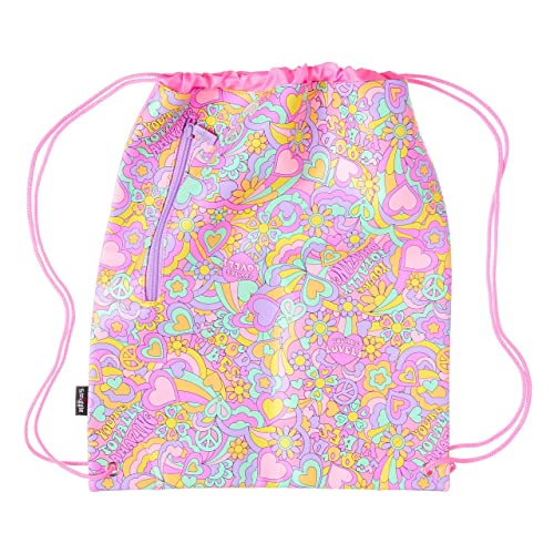 Smiggle Seek Kids School Drawstring Bag for Girls /& Boys Ice Cream Print