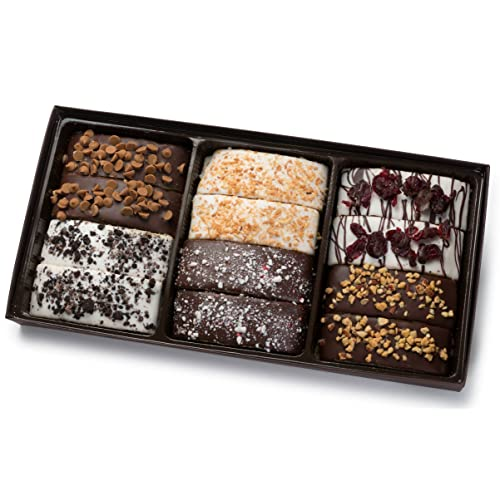 Him /& Her Barnett/'s Gourmet Chocolate Biscotti Holiday Gift Basket Fathers Day
