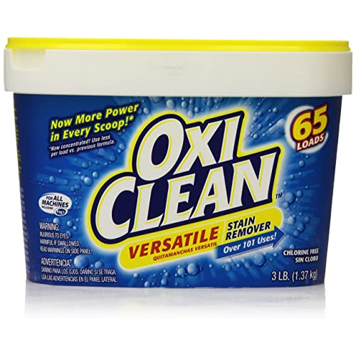 Oxiclean Versatile Stain Remover Powder 3 Lbs