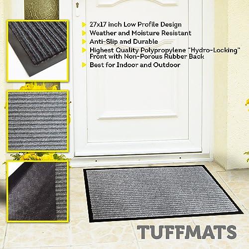 Pack Of 2 Jinclean Front Door Mat Rugs For Entryway 30 X 18 Indoor