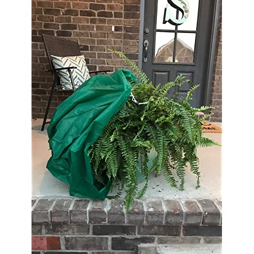 OriginA Plant Covers Stripe Decoration Shrub Jacket Christmas Day Plant Protecting Cover /& Frost Protection Bag H53 x W46 Anti-UV