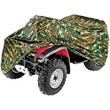 VPS Seat Cover Compatible With Polaris Sportsman 05 up 500 700 800 Black Top Camo Sides Seat Cover