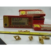 MM Chipbreaker 0.0157 Corner Radius Sandvik Coromant CoroTurn 107 Carbide Turning Insert DCMT 3//8 iC 1-MM DCMT 3 55 Degree Diamond GC2025 Grade Multi-Layer Coating Pack of 10 2.5