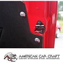 Sneaky Pete Gts Cf American Car Craft 982001-ORG Orange Tag Frame
