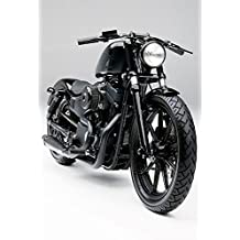 JBSporty ♤ Sportster Handlebar Clamp to fit Indicator lights Harley Iron roadster 48 Iron 72 Satin Blk ♧ Classic Style!
