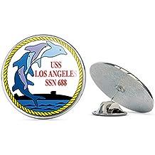 US Navy USS Olympia SSN-717 Veteran Military Veteran USA Pride Served Gift Metal 0.75 Lapel Hat Pin Tie Tack Pinback