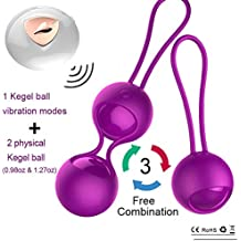 c1ca08692 2 in 1 Kegel Exercise Weights Kit Ben Wa Balls Kegel Balls for Women  Beginners