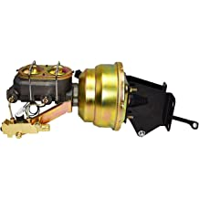 labwork Power Brake Booster 44610-0C010 Fit for 2000-2006 Toyota Tundra 10-inch Black Disc Drum