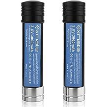 Creabest 2Pack 3.6V 3500mAh Ni-MH Replacement Battery for Black /& Decker Versapak Battery VP100 VP100C VP105 VP105C VP110 VP110C VP143 Model Power Tools