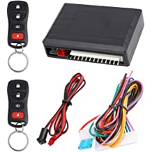 HYDDNice Universal Car Locking System Car Lock Convertion Kit with Remotes Keyless Entry Security