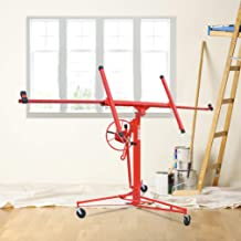 Professional 11/' Lift Panel Hoist Drywall Plaster Board Jack Lifter Construction