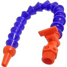 DealMux CNC Machine Plastic Switch Flex Water Oil Coolant Pipe Hose 1//4PT Thread