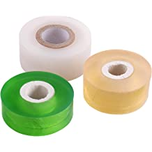 2pcs Green Stretchable grafting tape clear floristry film 50mm 2 inch wide