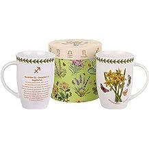 Portmeirion 664357 Botanic Garden Jumbo Cup 20Oz 20 oz White
