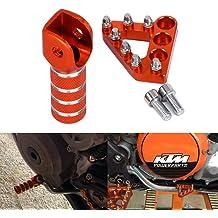 MZS Pivot Levers Brake Clutch compatible KTM 250 EXC SX SX-F XC XCW XC-F 07-13//300 EXC XC XC-W 06-13//350 EXC-F SX-F XC-F XCF-W 11-13// 400EXC 09-11//450 EXC EXC-R XC-W 08-13//530 EXC-R XC-W 08-11