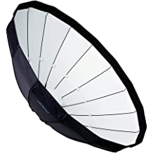 45cm Soft White Interior Fotodiox Pro 18in All Metal Beauty Dish with Speedotron Insert