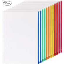 Vinyl Ring Binder Pocket with Zipper 10 x 8 Inches,CL Hole Punched