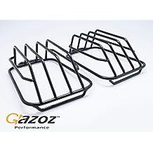 GAZOZ PERFORMANCE for 15-19 Subaru WRX STI 6mm 1//4 Pinstripe Front Grille Red Stripe Molding 3.5M