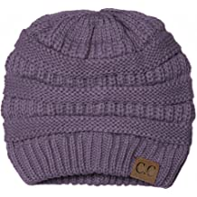 62fd90e4246f65 C.C Trendy Warm Chunky Soft Stretch Cable Knit Beanie Skully