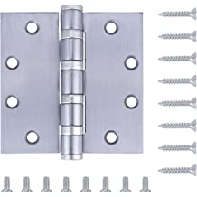 Box of 3-4-1//2 Inches Mortise Ball Bearing Butt Hinges Black Finish 4823FBB Richelieu Hardware
