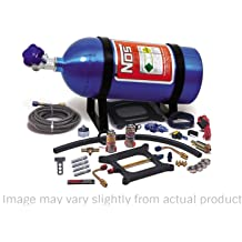 Nitrous Express 90006-10 200-600 HP 8-Cylinder Gasoline Shark Direct Port System with 4 Solenoids and 10 lbs Bottle