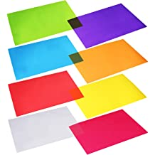 2-Pack Cello Sheets 8.5 inch x 11 inch 48 Pack 6 Each of 8 Colors 78548 Hygloss Bulk Buy