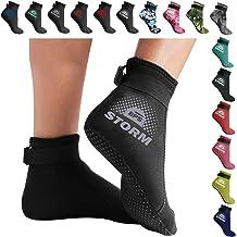 Nachvorn Wetsuits Socks Premium 3mm Neoprene Water Fin Socks for Beach Swim Surf Yoga Exercise Sand Activities