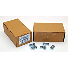 100 Strut Channel Nuts 3//8-16 Standard Spring Zinc Plated Unistrut Nut